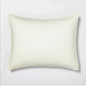 Hearth & Hand Standard Solid Quilted Pillow Shams
